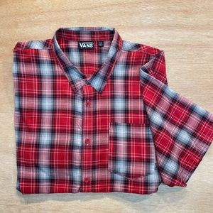 VANS XXL Button Down casual T Shirt